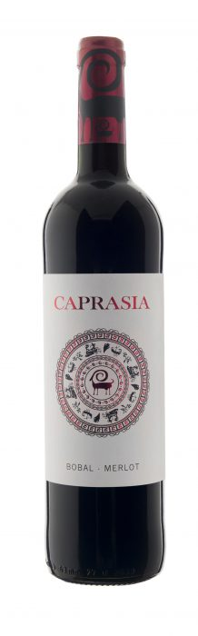 Bodegas Vegalfaro Caprasia Roble bio | Spanje | gemaakt van de druif: Bobal, Merlot