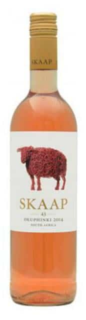 Skaap Wines rosé | Zuid-Afrika | gemaakt van de druif: Merlot, Sauvignon Blanc