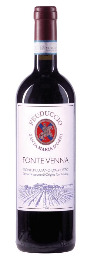 Il Feuducio 'Fonte Venna' Montepulciano d'Abruzzo | Italië | gemaakt van de druif: Montepulciano