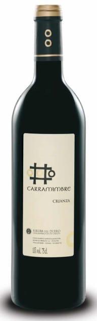 Carramimbre, Ribera del Duero Crianza   Spanje   gemaakt van de druif: Cabernet Sauvignon