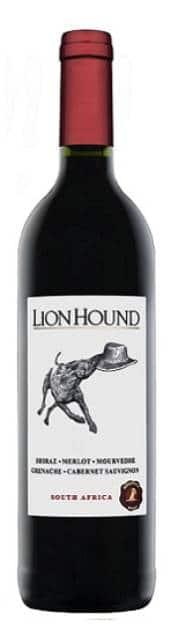Ridgeback Lion Hound Red | Zuid-Afrika | gemaakt van de druif: Cabernet Sauvignon, Grenache Noir, Merlot, Mourvèdre, Shiraz