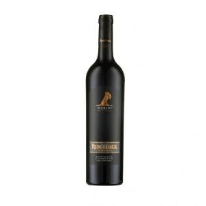Ridgeback Merlot | Zuid-Afrika | gemaakt van de druif: Merlot