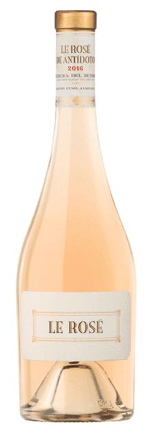 Bodegas Antídoto Le Rosé   Spanje   gemaakt van de druif: Albillo, Tempranillo