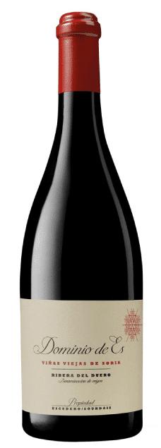 Dominio de Es Vinas Viejas de Soria   Spanje   gemaakt van de druif: Albillo, Tempranillo