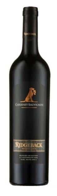Ridgeback Cabernet Sauvignon | Zuid-Afrika | gemaakt van de druif: Cabernet Sauvignon