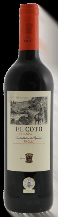 El Coto Crianza | Spanje | gemaakt van de druif: Tempranillo