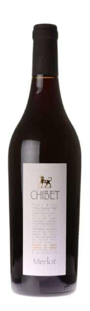 Chibet Merlot   Frankrijk   gemaakt van de druif: Merlot