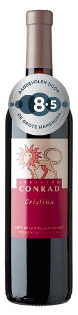 Bodegas Conrad Ronda Cristina 2014 bio | Spanje | gemaakt van de druif: Malbec, Petit Verdot