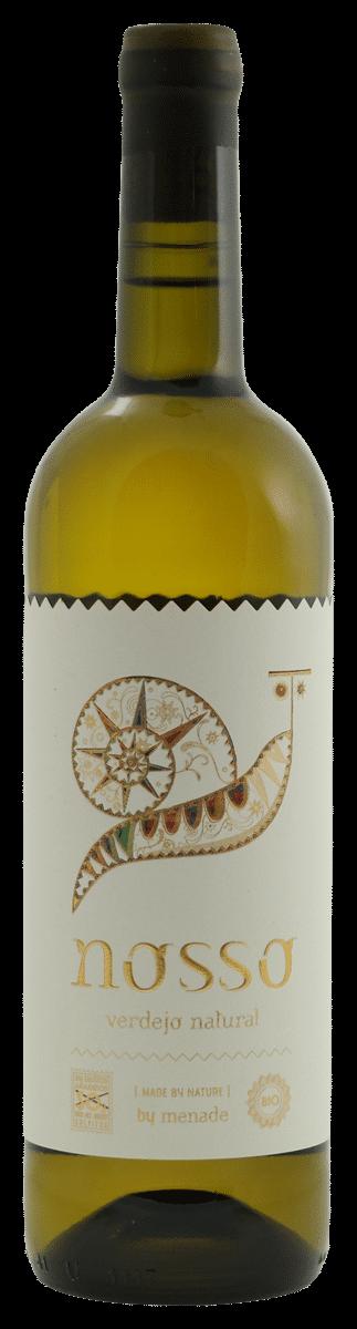 Menade Nosso Verdejo Rueda – vin nature | Spanje | gemaakt van de druif: Verdejo