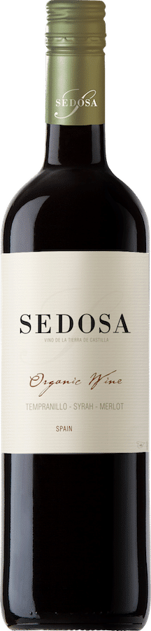 Sedosa Organic Negre bio | Spanje | gemaakt van de druif: Merlot, Syrah, Tempranillo