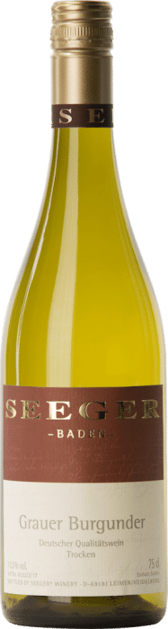 Weingut Seeger Grauer Burgunder | Duitsland | gemaakt van de druif: Grauburgunder