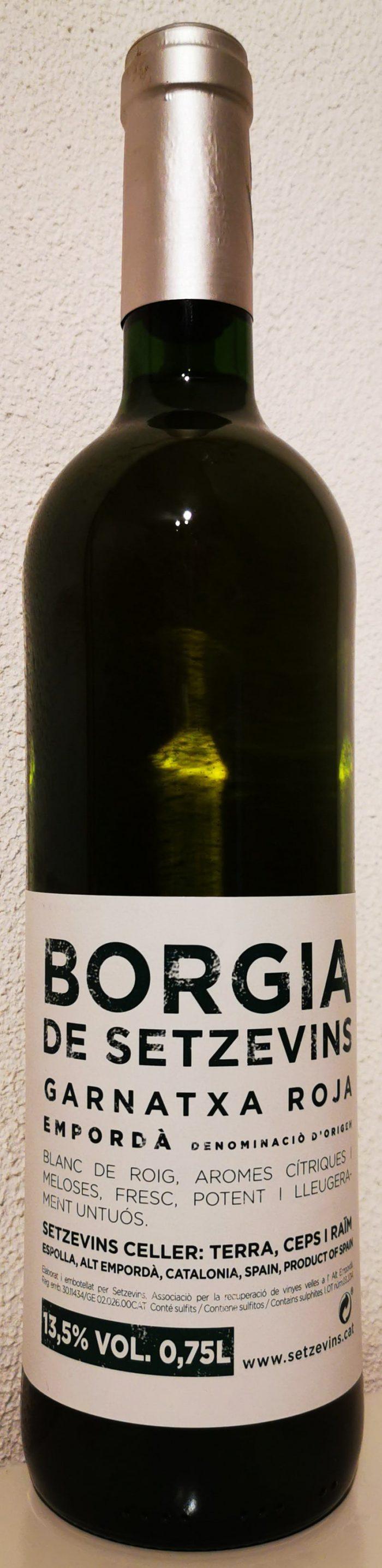 Borgia blanc de noirs Empordà | Spanje | gemaakt van de druif: Garnacha