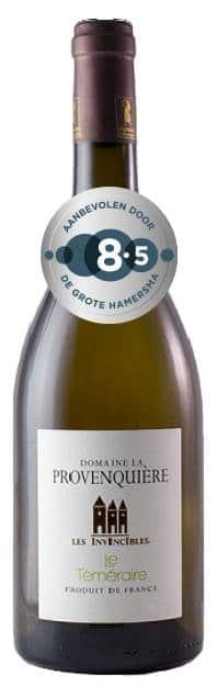Domaine la Provenquiere le Temeraire bio | Frankrijk | gemaakt van de druif: Chardonnay, Sauvignon Blanc, Semillon, Vermentino, Viognier