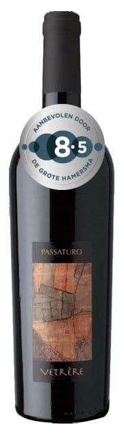 Vetrère Passaturo Salento IGT | Italië | gemaakt van de druif: malvasia nera