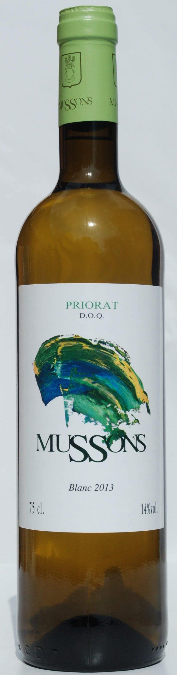 Mussons Blanco de Priorat | Spanje | gemaakt van de druif: garnacha blanca, Macabeo, Pedro Ximenez