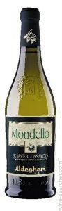 "Soave Classico ""Mondello"" D.O.C | Italië | gemaakt van de druif: Chardonnay, Garganega, Trebbiano"