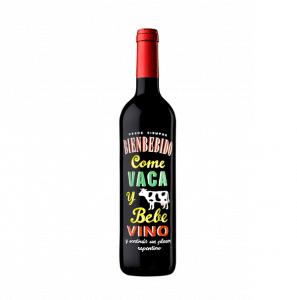 Bienbebido Vaca | Spanje | gemaakt van de druif: Merlot, Tempranillo