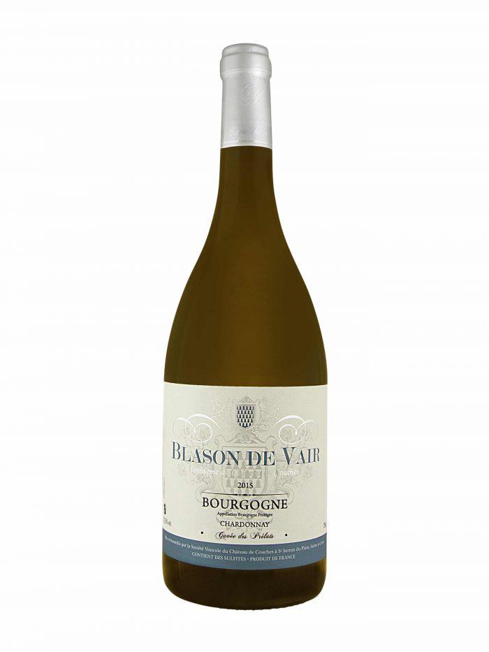 Blason de Vair Bourgogne Chardonnay Les Prelats   Frankrijk   gemaakt van de druif: Niet bekend