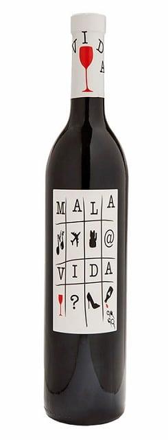 Bodegas Antonio Arraez Mala Vida   Spanje   gemaakt van de druif: Cabernet Sauvignon, Monastrell, Syrah, Tempranillo