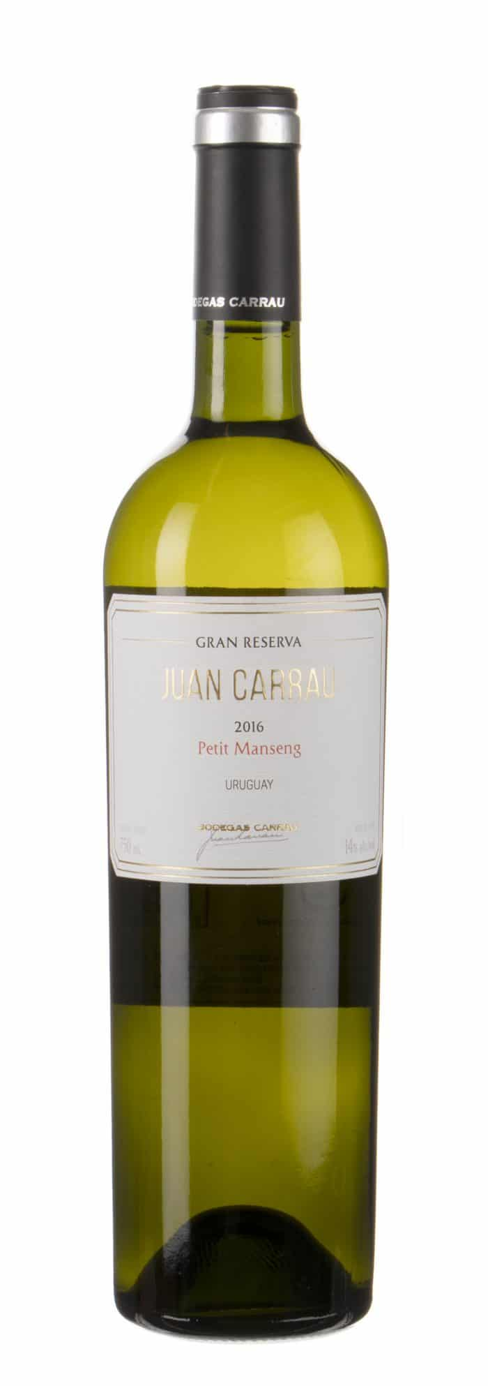 Bodegas Carrau – Petit Manseng | Uruguay | gemaakt van de druif: petit-manseng