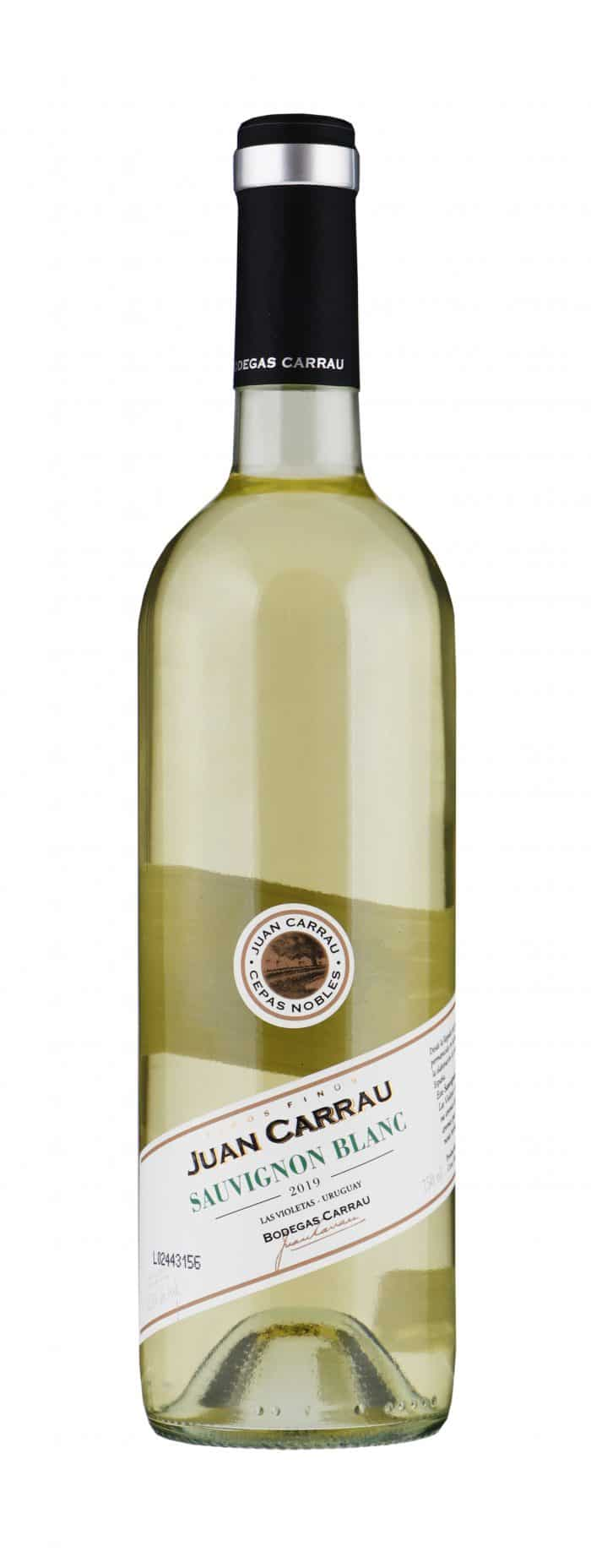 Bodegas Carrau – Sauvignon Blanc | Uruguay | gemaakt van de druif: Sauvignon Blanc
