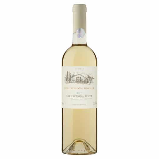 Egri Korona Borház Fehér | Hongarije | gemaakt van de druif: Chardonnay, Hárslevelű, Viognier