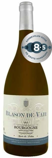 Blason de Vair Bourgogne Chardonnay Les Prelats | Frankrijk | gemaakt van de druif: Chardonnay
