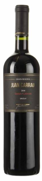 Bodegas Carrau – Tannat Cabernet | Uruguay | gemaakt van de druif: Cabernet Franc, Cabernet Sauvignon, tannat