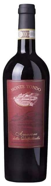 Monte Tondo Amarone Della Valpolicella   Italië   gemaakt van de druif: Corvina, Rondinella