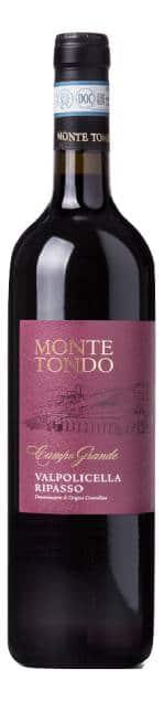Monte Tondo Grande Ripasso Della Valpolicella | Italië | gemaakt van de druif: Corvina, Rondinella