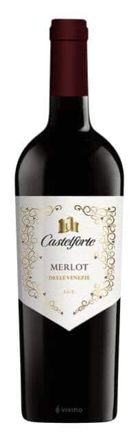 Castelforte Merlot | Italië | gemaakt van de druif: Merlot