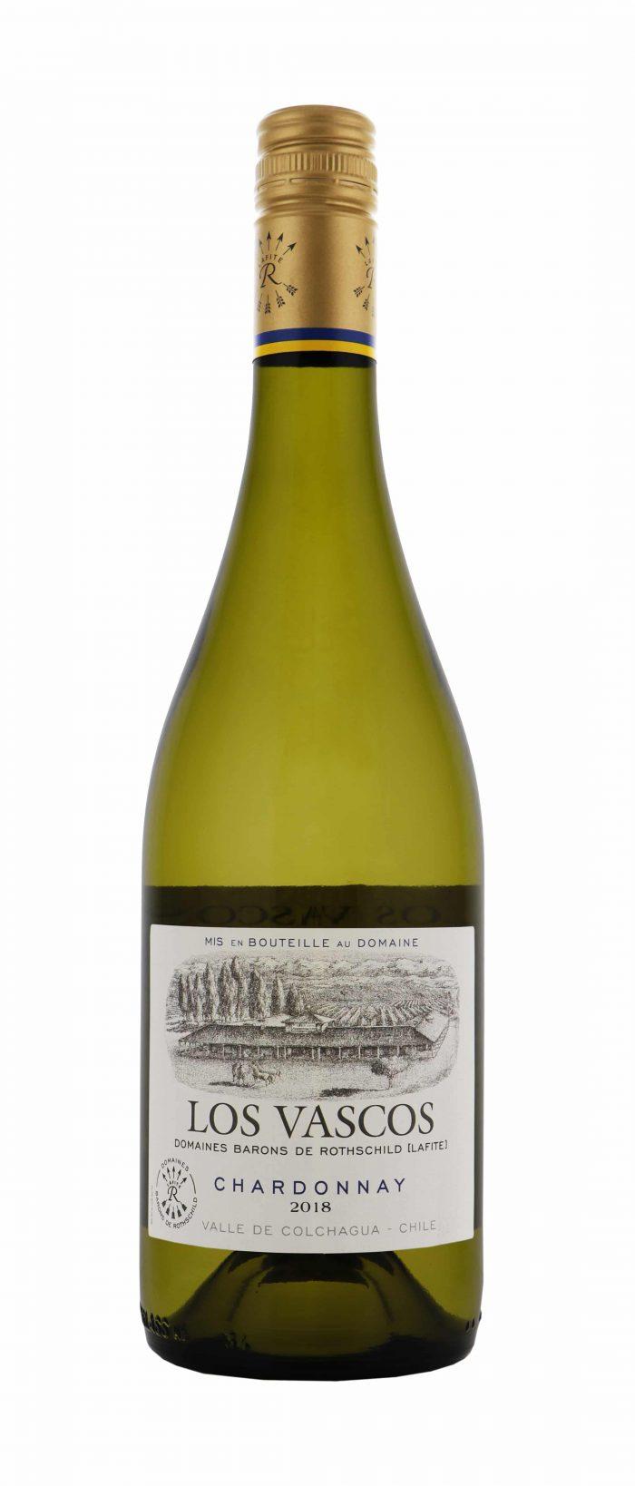 Los Vascos – Chardonnay   Chili   gemaakt van de druif: Chardonnay