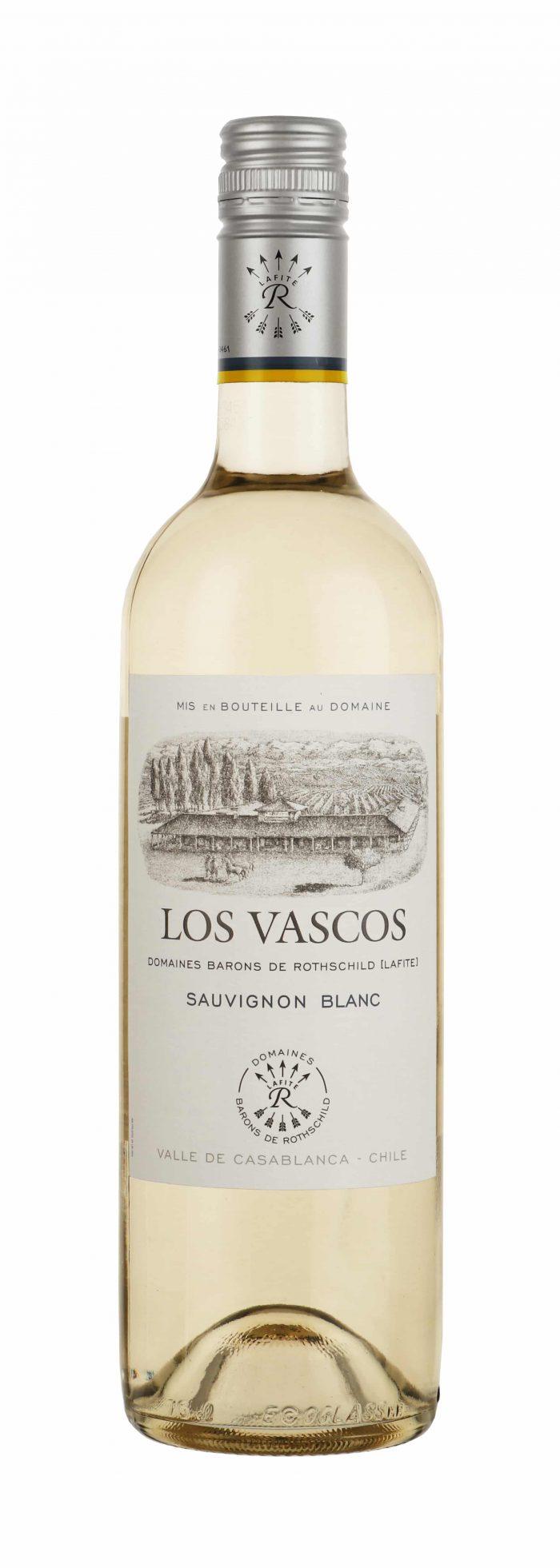 Los Vascos – Sauvignon Blanc | Chili | gemaakt van de druif: Sauvignon Blanc