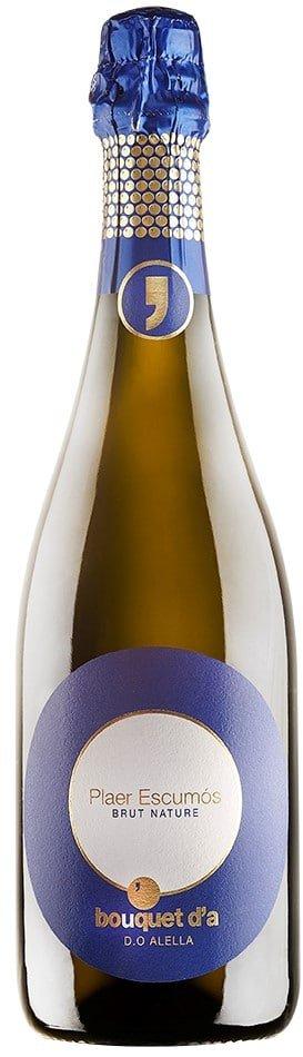 Bouquet d'Alella Cava Plaer Escumós Eco | Spanje | gemaakt van de druif: Chardonnay, pansa blanca