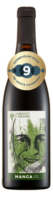 I Garagisti di Sorgogno Manca   Italië   gemaakt van de druif: Grenache