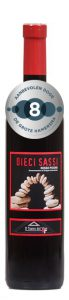 Il Teatro del Vino Dieci Sassi Rosso Picino | Italië | gemaakt van de druif: Montepulciano, Sangiovese
