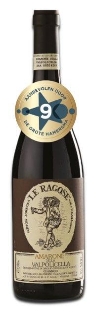 Le Ragose Amarone della Valpolicella | Italië | gemaakt van de druif: Corvina, Corvinone, Rondinella