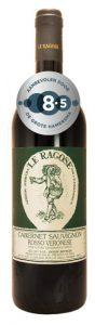 Le Ragose Cabernet Sauvignon Rosso Veronese | Italië | gemaakt van de druif: Cabernet Sauvignon
