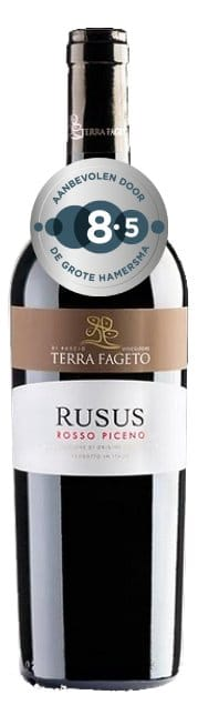 Terra Fageto Rusus Rosso Piceno | Italië | gemaakt van de druif: Montepulciano, Sangiovese