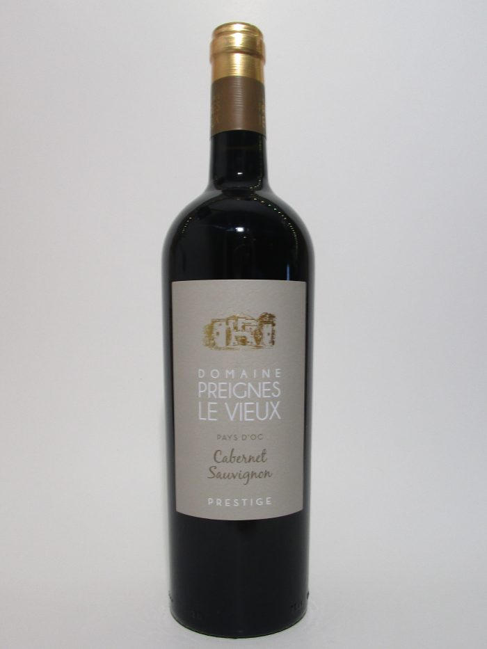 Domaine Preignes le Vieux cabernet-sauvignon Prestige | Frankrijk | gemaakt van de druif: Cabernet Sauvignon