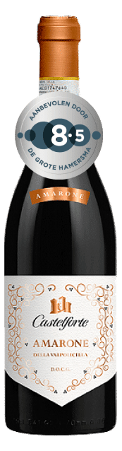 Castelforte Amarone della Valpolicella | Italië | gemaakt van de druif: Corvina, Corvinone, Rondinella