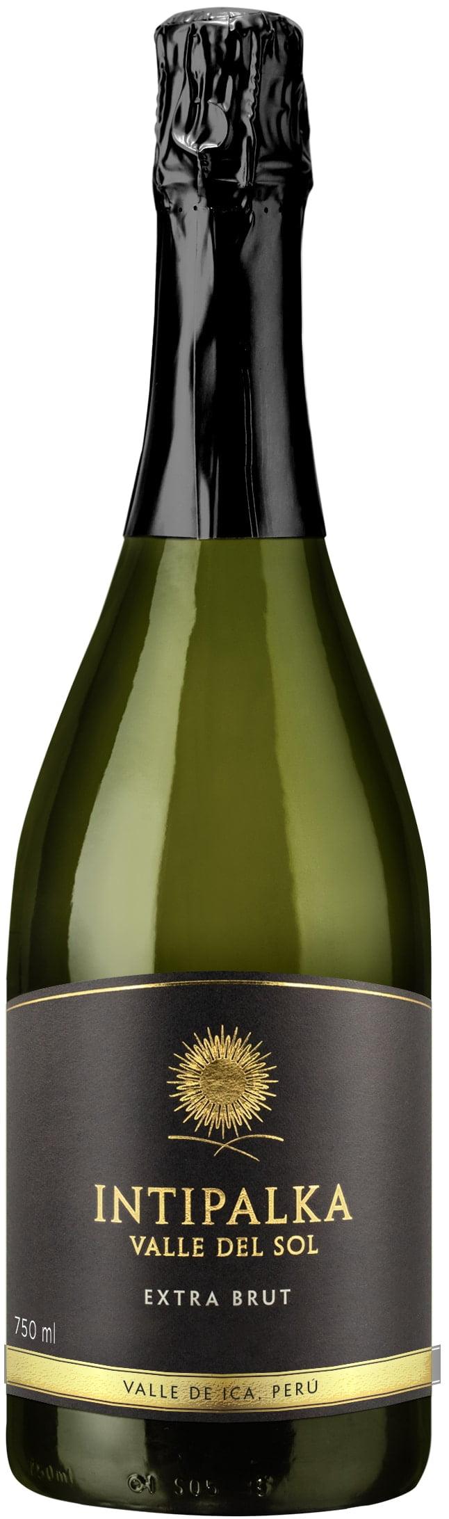 Intipalka – Extra Brut   Peru   gemaakt van de druif: Chardonnay, Pinot Noir