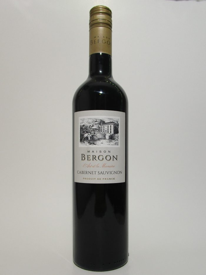 Maison Bergon cabernet-sauvignon | Frankrijk | gemaakt van de druif: Cabernet Sauvignon