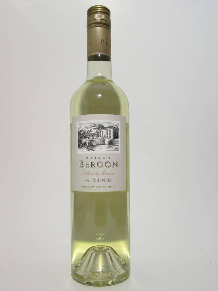 Maison Bergon sauvignon-blanc   Frankrijk   gemaakt van de druif: Sauvignon Blanc