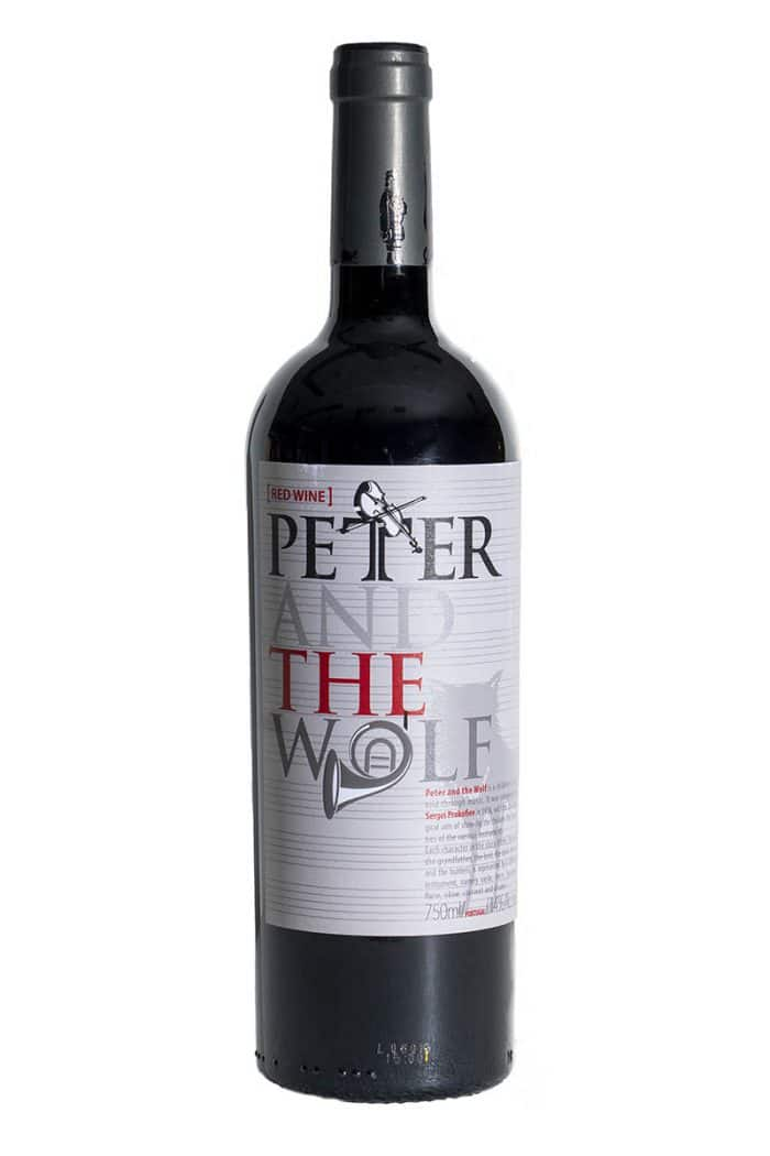 Peter and the Wolf tinto | Portugal | gemaakt van de druif: Alicante Bouschet, Syrah, Touriga Nacional