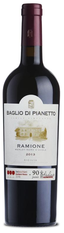 Baglio di Pianetto Ramione | Italië | gemaakt van de druif: Merlot, Nero d'Avola