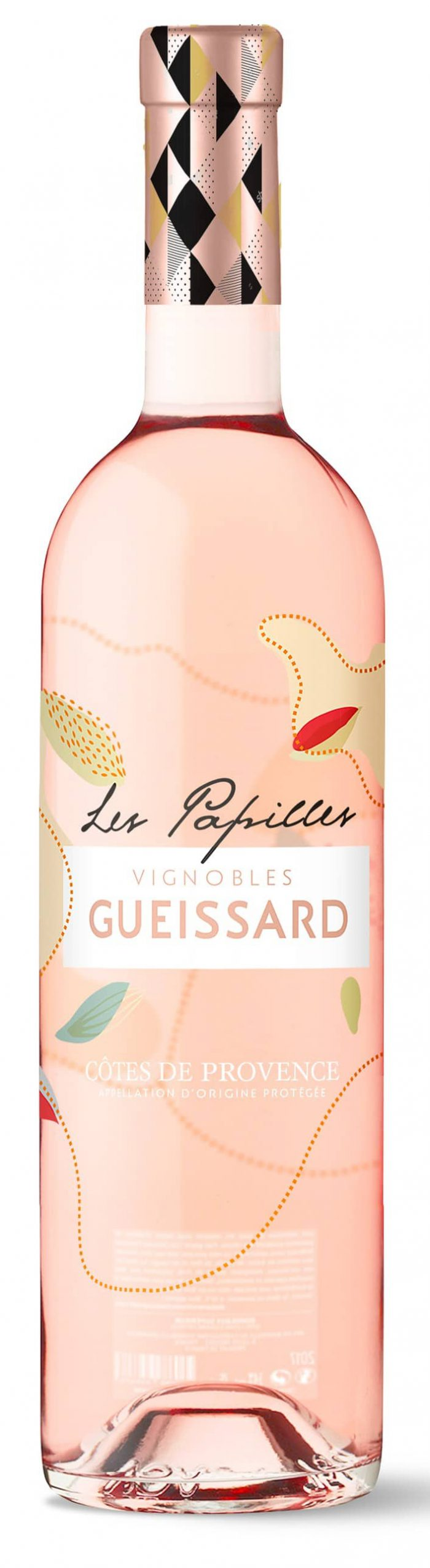 Vignobles Gueissard 'Les Papilles' | Frankrijk | gemaakt van de druif: Cinsault, Grenache Noir, Mourvèdre, Syrah, Vermentino
