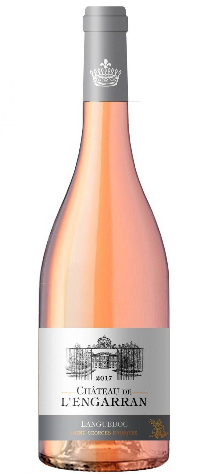 Château de l'Engarran rosé | Frankrijk | gemaakt van de druif: Cinsault, Grenache Noir