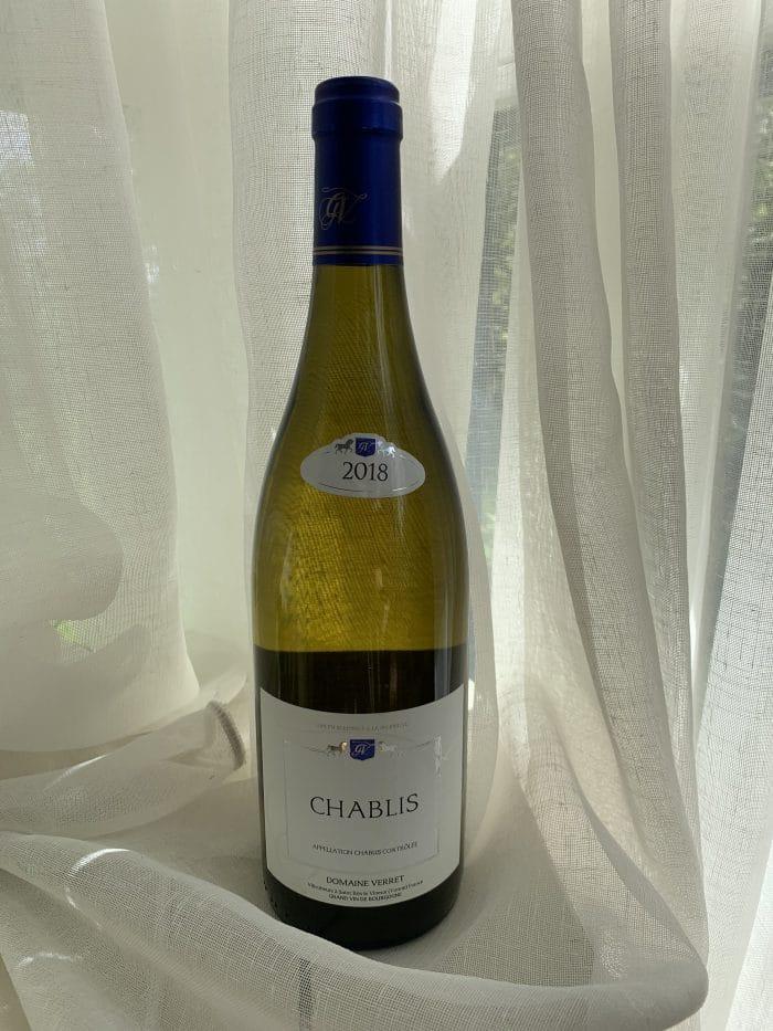 Chablis   Frankrijk   gemaakt van de druif: Chardonnay