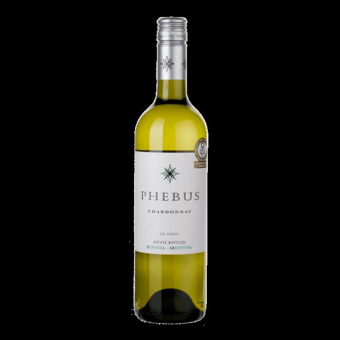 Phebus – Chardonnay   Argentinie   gemaakt van de druif: Chardonnay